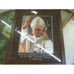 V-quadretto Papa Giovanni...