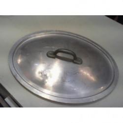 V-coperchio Alluminio Ovale
