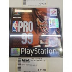 Gioco Ps1 Pro 99 Basket