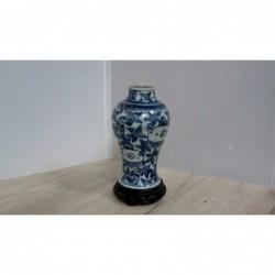 Potiche Ceramica Bianca/blu...