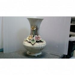 Vaso Ceramica Con Decoro...