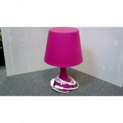 Lampada Ikea Plastica Fuxia...