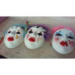 V-maschere Ceramica Dipinta...