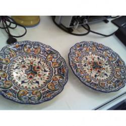 Piatti Ceramica Dec Rouen